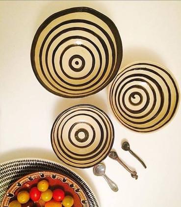 stripey bowls