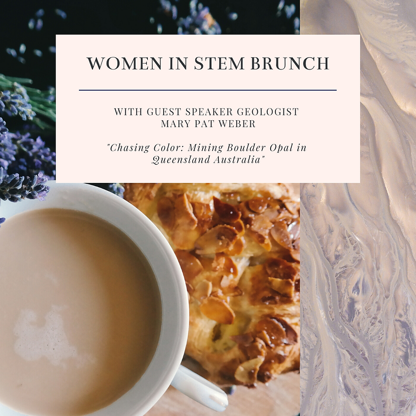POSTPONED STEM & BRUNCH with guest speaker Mary Pat Weber