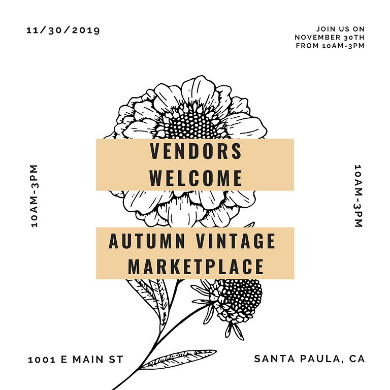 Vendors Registration for Vintage Marketplace