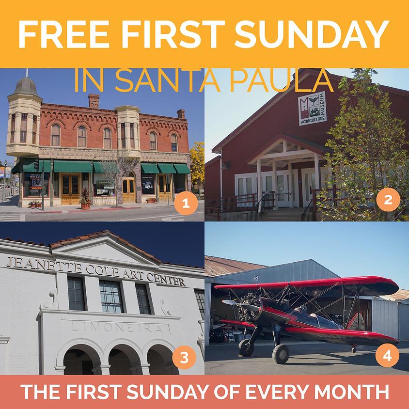 Santa Paula Museum's Free First Sundays of the Month