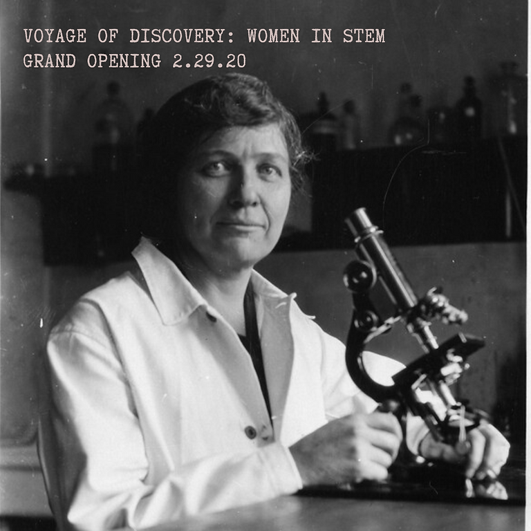Voyage of Discovey: Women in STEM Grand Opening!
