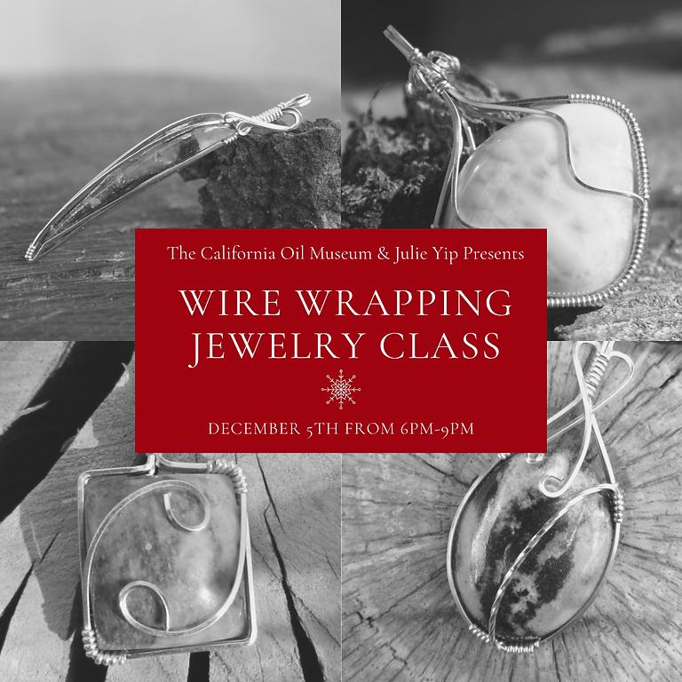 Gem Stone & Wire Wrapping Jewelry Class