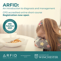 CPD accredited online short-course on ARFID launches in February