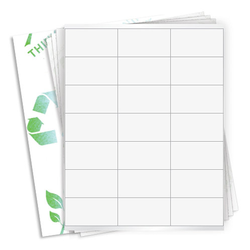 """2.8125"""" x 1.5""""  (21 Label/Sheet) Case of 1000 Sheets"""