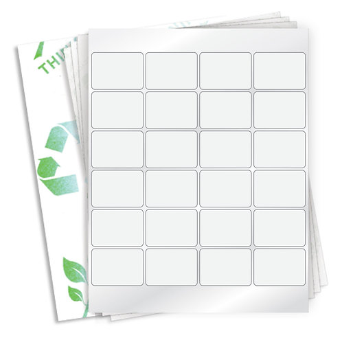 "2"" x 1.4687""  (24 Label/Sheet) Case of 1000 Sheets"