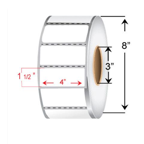 "4"" x 1 1/2"" Thermal Transfer Roll"