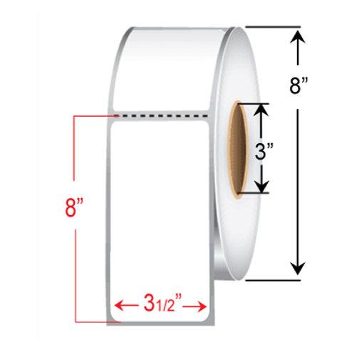 "3 1/2"" x 8"" Thermal Transfer Roll"