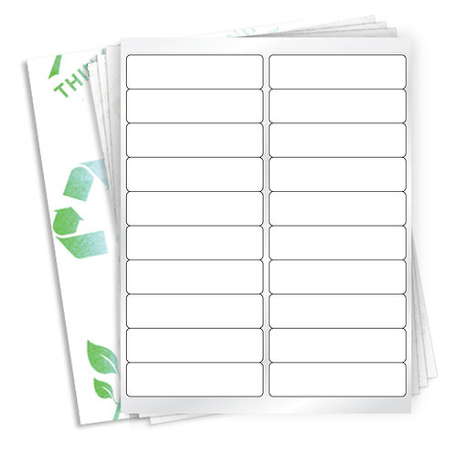 """4"""" x 1""""  (20 Label/Sheet) Case of 1000 Sheets"""