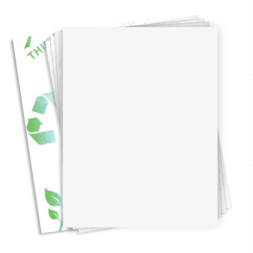 """8.5"""" x 11""""  (1 Label/Sheet) Case of 1000 Sheets"""