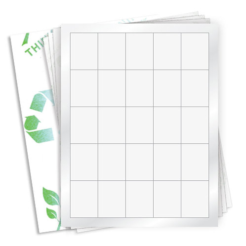 "1.5"" x 2""  (25 Label/Sheet) Case of 1000 Sheets"