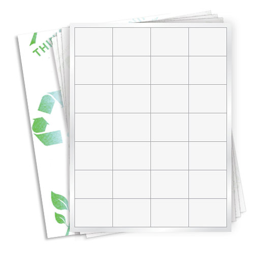 """2"""" x 1.5""""  (28 Label/Sheet) Case of 1000 Sheets"""