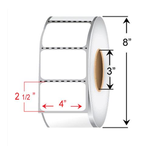 "4"" x 2 1/2"" Thermal Transfer Roll"