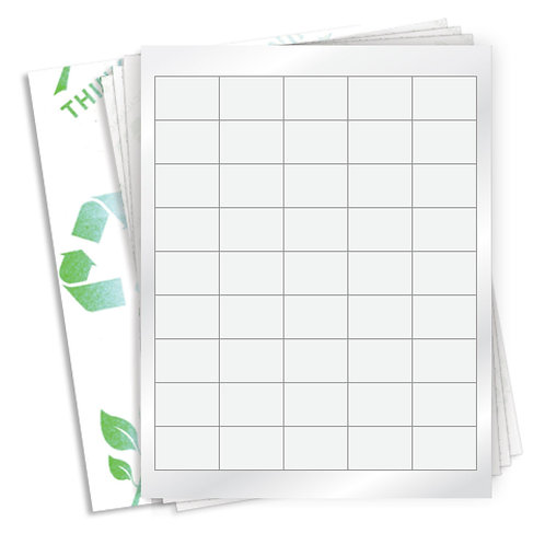 "1.5625"" x 1.0625""  (45 Label/Sheet) Case of 1000 Sheets"