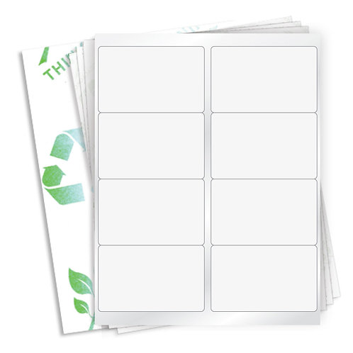 "4"" x 2.5""  (8 Label/Sheet) Case of 1000 Sheets"