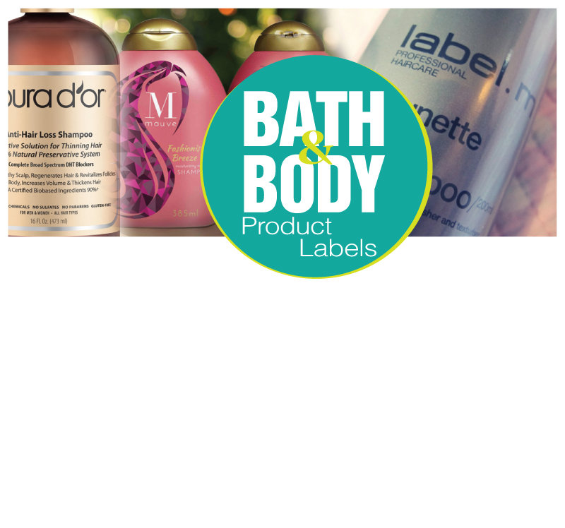 Bath & Body Labels