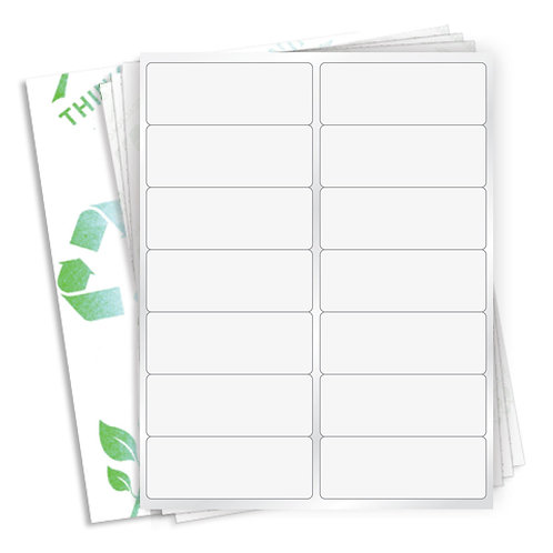 "4"" x 1.5""  (14 Label/Sheet) Case of 1000 Sheets"