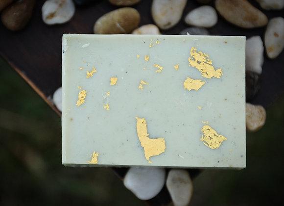 Magnolian Rose 24k Gold Leaf Hand Milled Soap