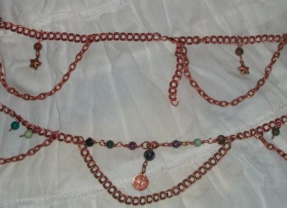 Solid Copper Chains
