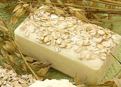 Oatmeal, Coconut Milk & Maple Syrup HM Soap