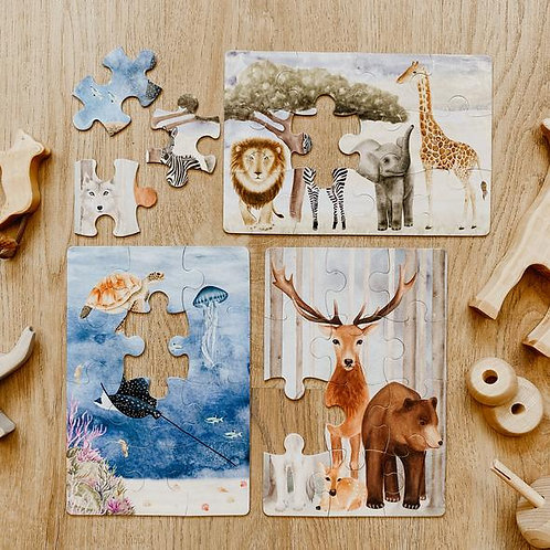 Jo Collier Designs | The Majestic Wild Puzzle Collection