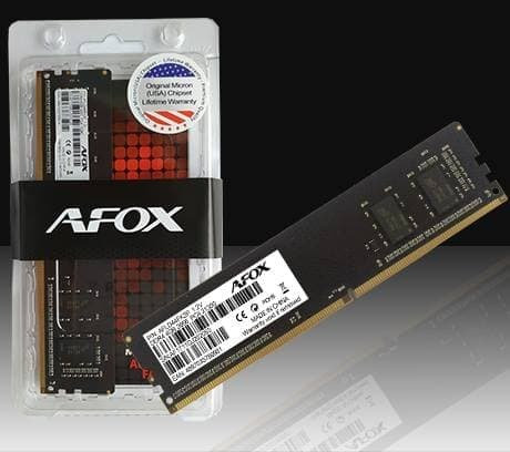 MEMORY AFOX LONGDIMM 4 GB DDR3 1600MHZ PC12800