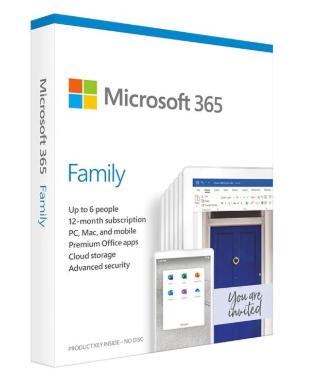MICROSOFT 365 FAMILY (1 TAHUN/ 6 ORANG) ORIGINAL