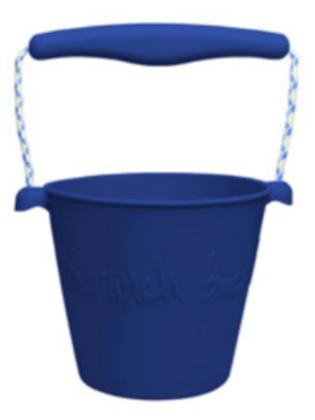 Scrunch Bucket (Midnight Blue)