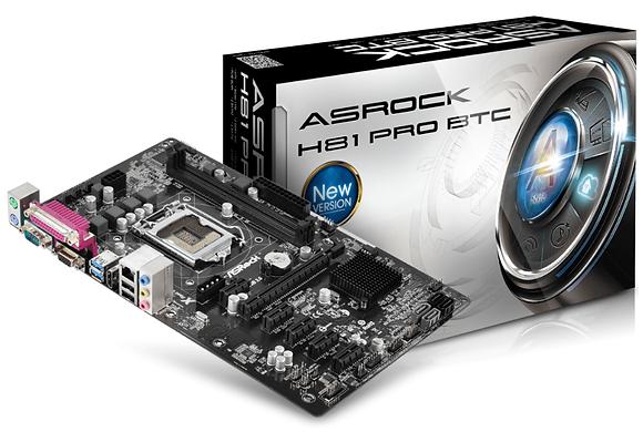ASROCK H81 PRO BTC (LGA 1150)
