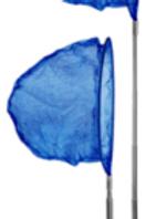 Scrunch Net (Midnight Blue)