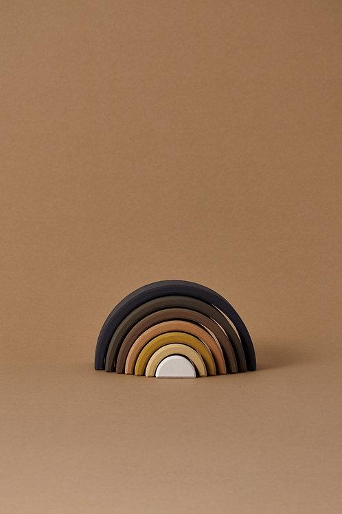 Raduga Grez | Skin Tone Arch Stacker (Black & White)