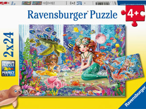Ravensburger | Mermaid Tea Party 24 Piece