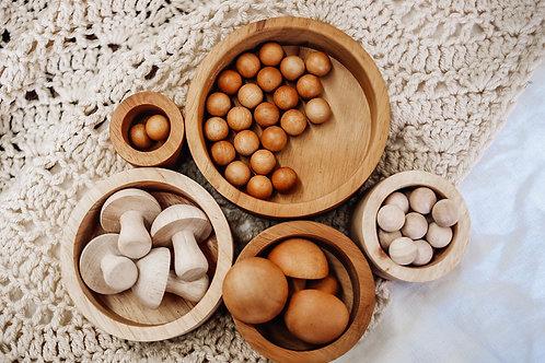 Qtoys | 2 Tone Stacking & Nesting Bowls