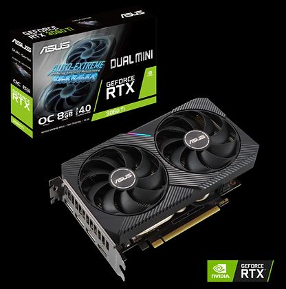 ASUS DUAL RTX 3060Ti-O8G 8GB GDDR6X 256-BIT