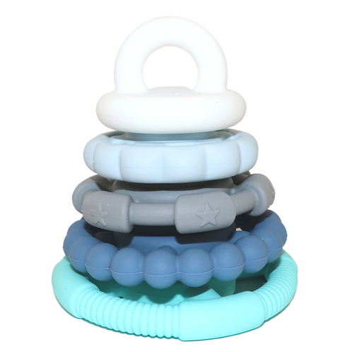 Jellystone Rainbow Stacker and Teether Toy (Ocean)