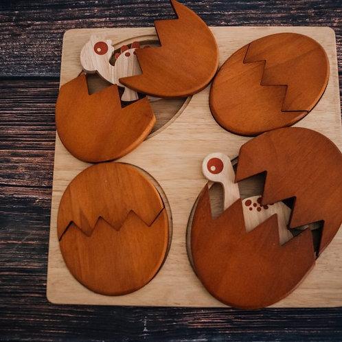 Qtoys | Dinosaur Hatching Puzzle