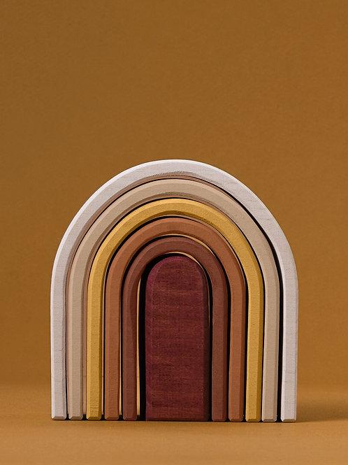 Raduga Grez | Rainbow Arch Stacker Oval