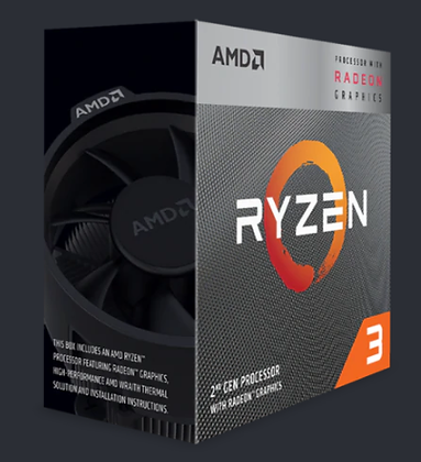 AMD PICASSO RYZEN 3 - 3200G BOX (SOCKET AM4)
