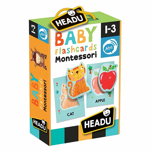 Headu | Montessori Baby Flashcards
