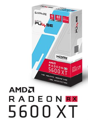 SAPPHIRE PULSE RADEON RX 5600 XT 6GB GDDR6 192-BIT