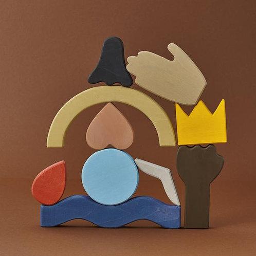 Raduga Grez | Diversity Block Set
