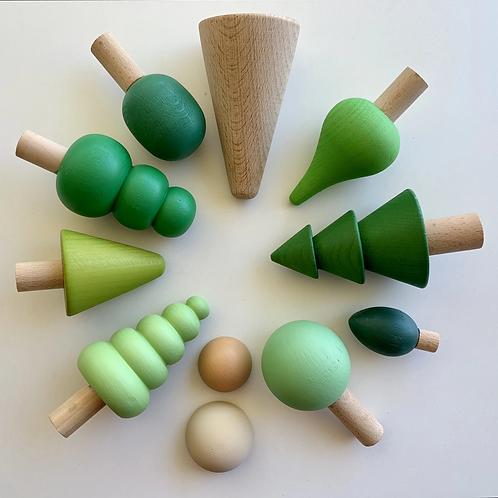 Earthside | Forest Set (Greens)