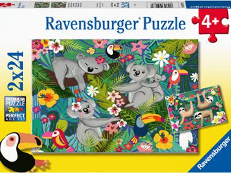 Ravensburger | Koala & Sloths 24 Piece