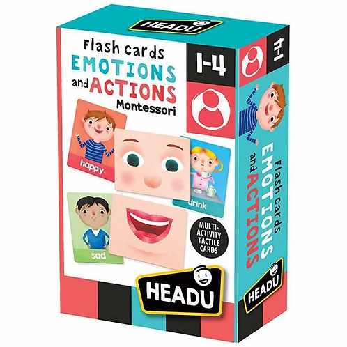 Headu   Flash Cards Emotions& Actions