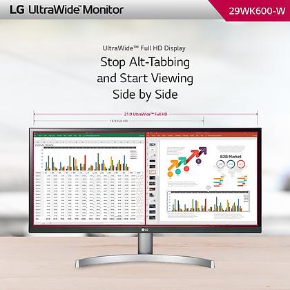 """LG WFHD 29WK600-W 29"""" IPS HD10"""