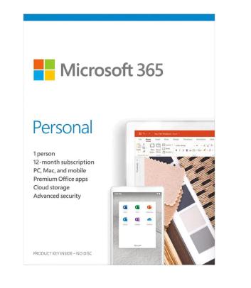 MICROSOFT 365 PERSONAL (1 TAHUN/ 1 ORANG) ORIGINAL