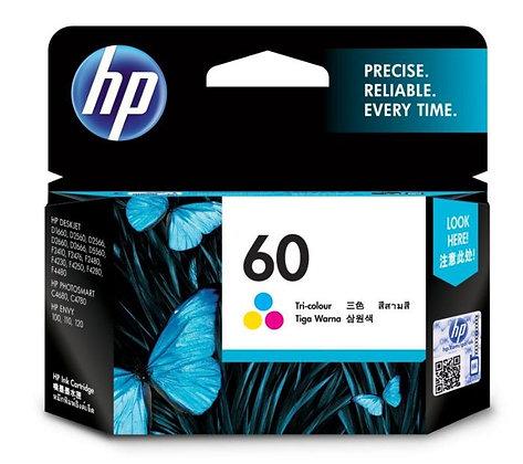 HP 60 TRI-COLOR ORIGINAL