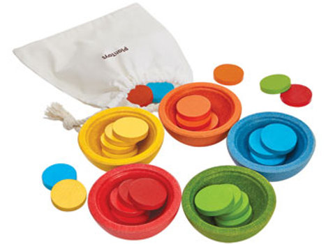 Plan Toys | Sort & Count Cups