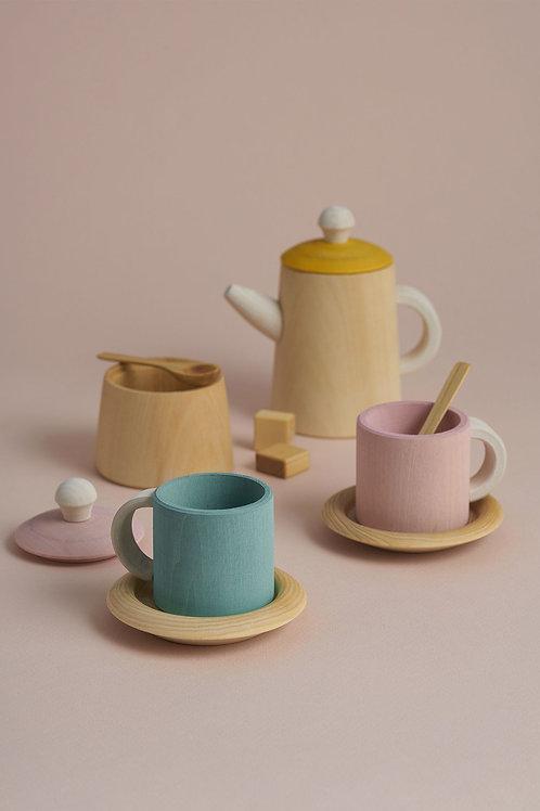 Raduga Grez | Tea Set (Mustard & Pink)