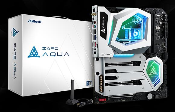 ASROCK Z490 AQUA (LGA 1200)