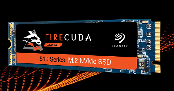 SEAGATE SSD FIRECUDA 510 500GB NVMe PCIE M.2